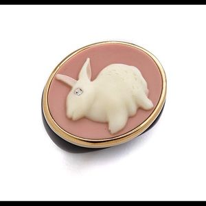 Marc by Marc Jacobs NWT Bunny Cameo Ring